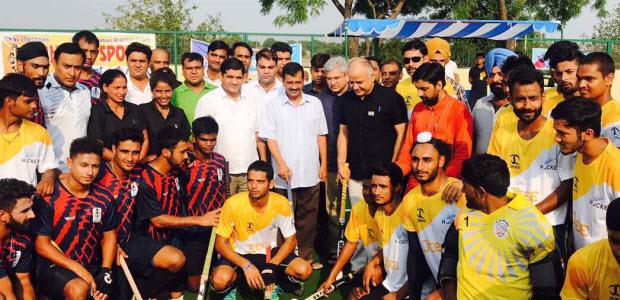 CM-kejriwal-inaugurates-first-astro-turf-hockey-playground