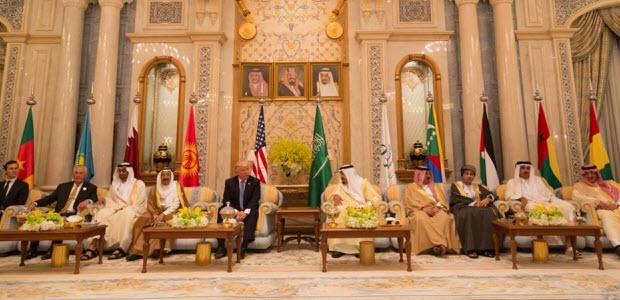 Trump on Arab trip