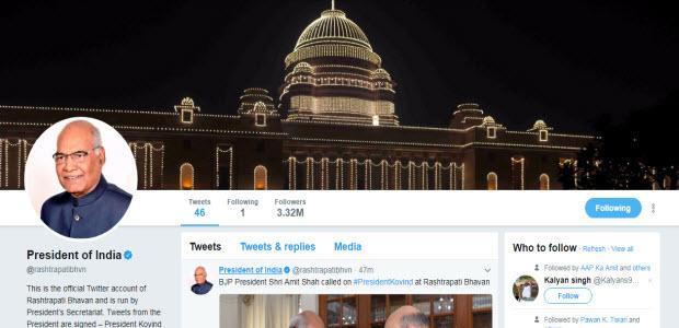 fact-behind-president-kovind-gains-3M-new-followers-hour