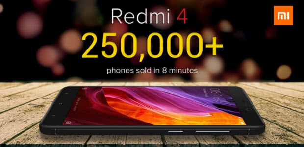 xiaomi-redmi-4-2.5-lakhs-units-sold-in-8-minutes-in-india